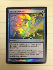DISTANT MELODY FOIL 1x NM x1 Premium Deck Series Slivers magic mtg