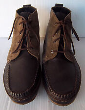 Men's Rag & Bone Brown Lace up Boots Shoes -- Size 8 M US