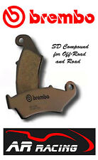 Brembo SD Sintered Rear Brake Pads to fit KTM 450 SX Racing 2005