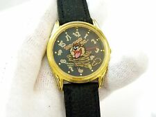 "TAZ,Looney Tunes,Armitron.Big Face,""Painted 3D Crystal"", MENS WATCH,736,L@@K!!"