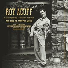 ROY ACUFF - KING OF COUNTRY MUSIC DVD box set  (CD) Sealed