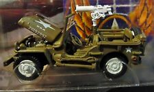 JOHNNY WHITE LIGHTNING WL WWII WILLYS MB SCOUT JEEP LIGHTNING BRIGADE MILITARY
