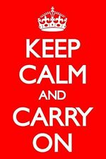 KEEP CALM AND CARRY ON MOTIVATION PP32075 POSTER