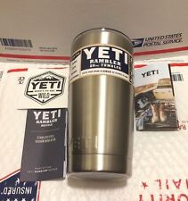 BRAND NEW!! YETI Rambler 20 OZ Tumbler WITH LID! Free Fast shipping!