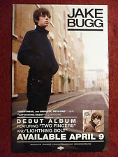 Music Poster Promo Jake Bugg - Debut Album - DS Double Sided