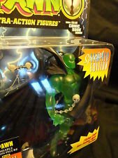Mcfarlane Spawn Spec Ed. Figure Flying cape swing open action Moc w/ comic book