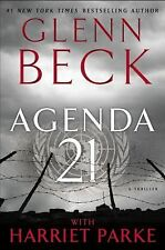 NEW- AGENDA 21 by Glenn Beck (2012, Hardcover First Edition NEW) -Free Shipping