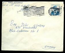 Turkey 1970's Cover To Germany #C7157