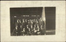 Chelsea MA Trolley Motormen Group Photo c1910 Real Photo Postcard