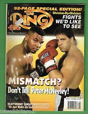 #EE.  THE RING BOXING MAGAZINE, OCTOBER  1995