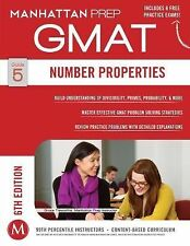 Number Properties GMAT Strategy Guide by Manhattan Prep