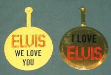 Elvis Presley Las Vegas Concert Tab Pins Two (2)