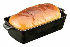 Camp Chef Home Seasoned Cast Iron Bread Pan Black 1