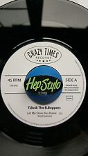 T.BO & THE B.BOPPERS 45-LET ME DRIVE YOU HOME-GREAT ROCKIN' BAND J.D. MCPHERSON
