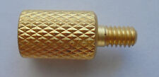 Brass Cleaning Rod Adapter (adapt .22 ca rifle rod to larger shotgun brushes)
