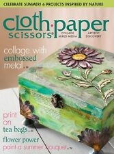 Cloth Paper Scissors Magazine July/August 2015 (Originally £5.50)
