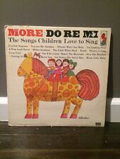 The Do-Re-Mi Children's Chorus* ‎– More Do-Re-Mi 1963 LP, Kapp Records