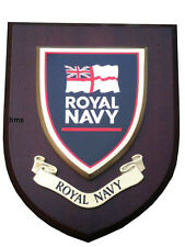 Royal Navy Regimental Military Wall Plaque uk hand made for MOD