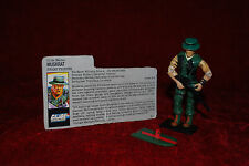 Vintage Action Figure - G.I JOE - MUSKRAT - 1988 Toy - Near Complete