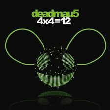 4x4=12 [Digipak] by Deadmau5 (CD, Dec-2010, Mau5trap)-BRAND NEW/SEALED