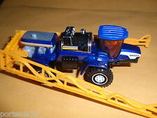 2013 Matchbox Mission Force Farm Crew CROP SPRAYER  Loose BLUE