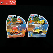 RoboCar Poli Mark Bucky Diecast Die-cast Figures Truck Buggy Car 2pcs Set 2016