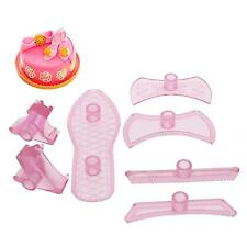 7Pcs Lady Shoes Cake Mould Mold Baking Kit Cake Decorating Supplies Pastry Tool