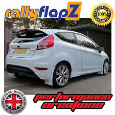 Mud Flaps to fit FORD FIESTA MK7 (2008-2012) RallyflapZ Mudflaps White 4mm PVC