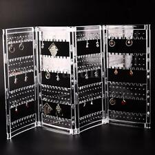 Earrings Ear Studs Necklace Jewelry Display Rack Stand Organizer Holder Case Box