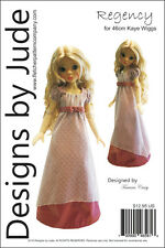 Regency Dress Pattern for 46cm Kaye Wiggs MSD BJD Dolls