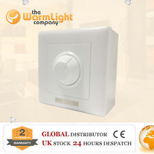 PWM LED Light Bulb Dimmer Brightness Control Wall Switch DC 12V-24V 8A MR16 MR11