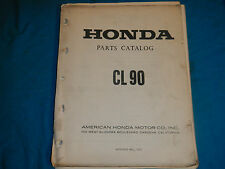 1967-1970 67 68 69 70 HONDA CL90 CL 90 PARTS MANUAL BOOK CATALOG