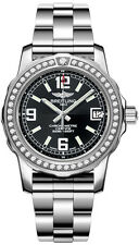 A7738753/BB51-158A | BREITLING COLT LADY | NEW BLACK 33MM WOMENS DIAMOND WATCH