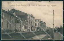 Padova città Scuola degli Ingegneri PIEGHINA cartolina QT8188