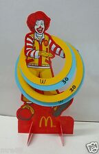 MRE * Uncle Ronald Card Board Puzzle, McDonald's
