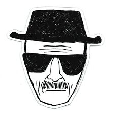 BREAKING BAD, Heisenberg Face, Officially Licensed High Quality, Die-Cut MAGNET
