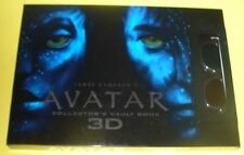 Avatar 3D Movie Story Book + Glasses 2010 NEW Great Pictures & Foldouts See!