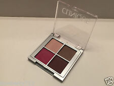 Clinique All About Shadow Quad-23 Hazy/Ballet Flats/AX chocolate/ CA Raspberry