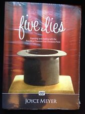 FIVE LIES JOYCE MEYER DVD BRAND NEW Factory sealed One Day FREE SHIPPING