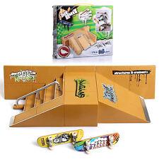 Plastic Tech Deck Finger Scooter Fingerboard Skateboard Kid Toys Boys Gift skate