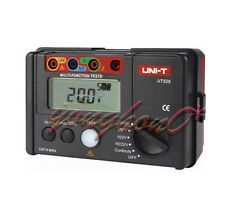 Electrical Insulation UNI-T UT526 Tester1000V 500MΩ RCD Test Continuity VAC/DC