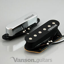 NEW Wilkinson 60's Vintage Voice Pickups for Tele®* guitars, Chrome MWVTN N&B