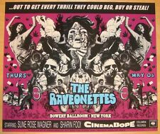 2004 The Raveonettes - New York Silkscreen Concert Poster S/N by Darren Grealish