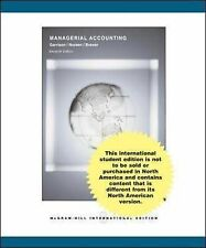 Managerial Accounting 11e with Topic Tackler Plus, Garrison, Ray H & Noreen, Eri