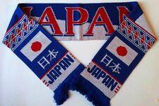 Bufandas de fútbol de Japón nuevo de hilos de acrílico superior