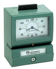 Acroprint Heavy Duty Time Clocks- Manual-125Nr4 01-1070-411 TIME CLOCKS NEW