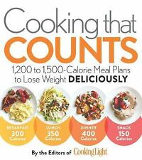 Cooking That Counts : 1,200 to 1,500-Calorie Meal Plans to Lose Weight...