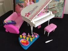 Vintage 1988 Barbie Piano Concert Super Star play set 7314 doll furniture