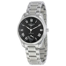 Longines Master Collection Automatic Black Dial Stainless Steel Mens Watch
