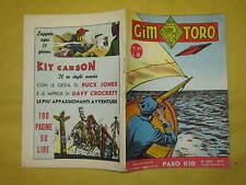 GIM TORO NUMERO 24 NOVEMBRE 1957 EDITORIALE DARDO
